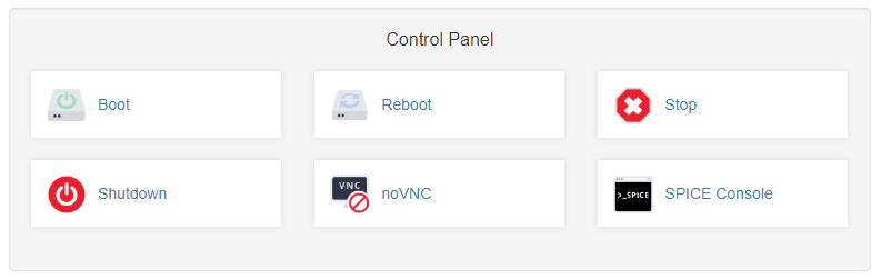 VPS Control